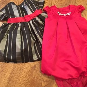 TWO (2) Holiday Dresses